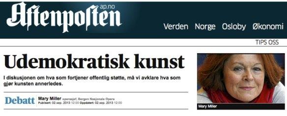 Aftenposten-blogg